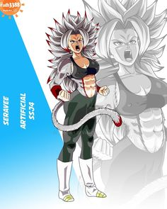 Cute Anime Character, Character Art, Character Design, Broly Ssj4, Female Goku, Gender Bender Anime, Dbz Characters, Arte Dc Comics, Dragon Ball Gt