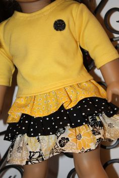 American girl doll clothes 18 inch doll by GrandmasDollCloset