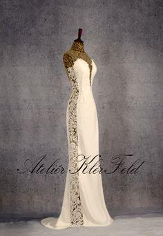 Svatební šaty z ateliéru KlérFeld 2018 Mermaid, Formal Dresses, Fashion, Formal Gowns, Moda, Fashion Styles, Formal Dress, Gowns, Fashion Illustrations