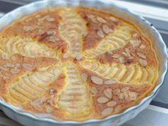 Ma Cuisine et Vous | Tarte amandine aux poires |  Préparation: 15 minutes      Cuisson: 35  minutes      Ingrédients  (pour 6  personnes):    1  pâte brisée    150  gr de beurre doux    ...