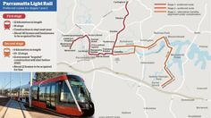New light rail route crosses Parramatta River but stops short of Strathfield