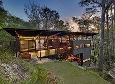 House | Scotland Island, Australia | Walk North Architects | photo by Michael Nicholson