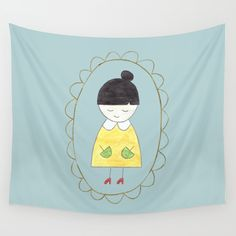 Little Dorothy Wall Tapestry by Unicornlette | Society6