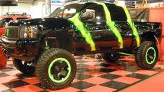 Monster Energy truck #ReferATruck