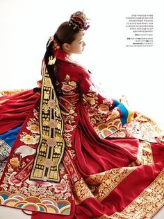 Hanbok, korean dress