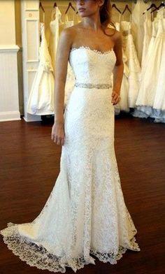 wedding dress wedding dresses #WeddingDressesStrapless