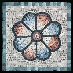 Would you believe this is not a Dresden quilt pattern? It's a photo of an ancient Roman mosaic found near Madrid, Spain.