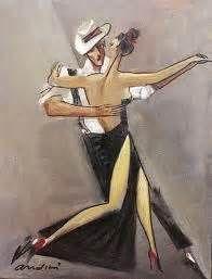 Tango Steps by Andrei Protsouk Danse Salsa, Tango Art, Tango Dancers, Dancing Drawings, Dance Paintings, Argentine Tango, Shall We Dance, Arte Pop, Art Music