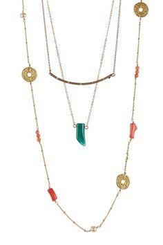 Michelle Necklace Set by Meghan Fabulous on @HauteLook