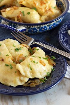 The Very Best Potato Pierogi Recipe - The Suburban Soapbox Authentic Polish Potato Pierogi recipe straight from my grandfather's kitchen. This is the real deal when it comes to the BEST Potato Pierogi recipe around. Ukrainian Recipes, Russian Recipes, Slovak Recipes, Ukrainian Food, Perogie Dough Recipe, Czech Recipes, Healthy Vegan Dessert, Gourmet, Recipes