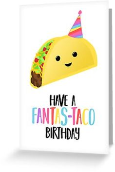 Birthday Card Puns, Birthday Jokes, Homemade Birthday Cards, Happy Birthday Cards Handmade, Happy Birthday Wishes, Funny Wishes, Fiesta Party Decorations, Pun Card, Food Puns