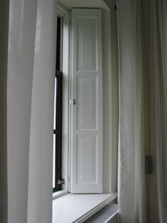 Lesser Seen Options for Custom Wood Interior Doors Shaker Interior Doors, Interior Window Shutters, Wooden Shutters, Interior Windows, Diy Interior, Indoor Shutters, Indoor Doors, House Windows, Blinds For Windows