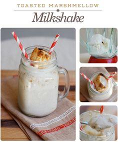 Toasted Marshmellow Milkshake