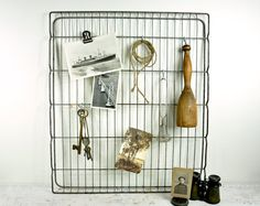 Vintage Salvage Metal Rack / Industrial Decor by havenvintage, $38.00