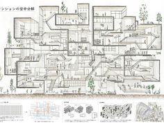 Best Picture For landscape Architecture poster layout For Your Taste You are . Architecture Concept Drawings, Architecture Collage, Architecture Board, Architecture Portfolio, Architecture Details, Landscape Architecture, Interior Architecture, Architectural Section, Poster Layout