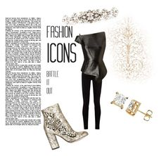 """""""Fashion Icons"""" by explorer-148461648110 ❤ liked on Polyvore featuring GEDEBE, Gucci, Roland Mouret and Dolce&Gabbana"""