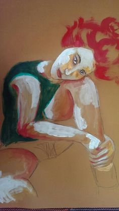 Inspired by Schiele