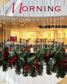 Monday Morning, Good Morning, Gd Mrng, Corporate Gifts, Mornings, Christmas Tree, Graphics, 3d, Holiday Decor