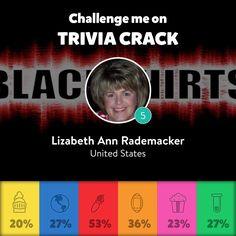 Get Trivia Crack! Download the app and challenge me: srademacker2413