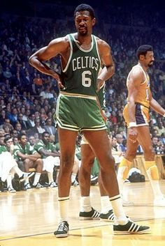 Bill Russell, who played for the Boston Celtics from 1956 to 1969.