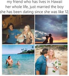 """I'm just gonna pin this because I think it's fricken cool that someone actually made a """"pin"""" of my husband's cousin and his beautiful wife!<<OMG this is mega cute! Couple Goals Relationships, Relationship Goals Pictures, Relationship Memes, Sweet Stories, Cute Stories, Boyfriend Goals, Future Boyfriend, Human Kindness, Fotos Goals"""