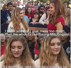 Willow Shields on Red Carpet for Mockingjay Pt.1 Premiere  #PrimroseEverdeen #Mockingjay #TheHungerGames