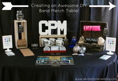 Creating an Awesome DIY Band Merch Table
