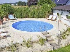 Stahlwand Pool Rundbecken 350 X 120 Cm