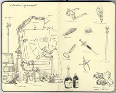 Mattias Adolfsson Sketchbooks