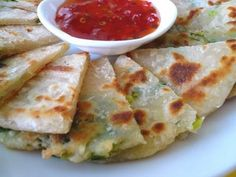Scallion Pancakes :: i love ordering these when eating Chinese take-out, now i'll have to try making them at home!