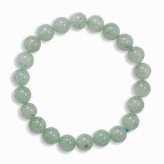 Green Aventurine Bead Stretch Bracelet