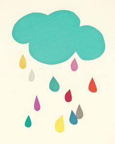 Sunshine and Showers Art Print