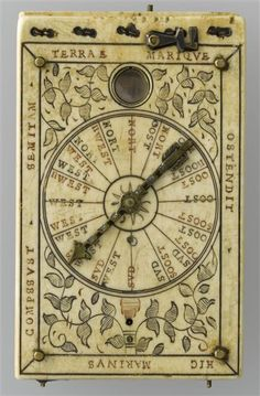 Is it a compass or ??? Whatever it is it sure looks mystical. Very cool!