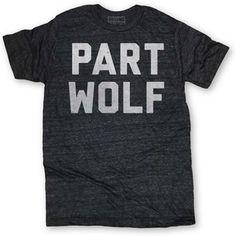 Part Wolf Tee Black