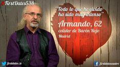 Armando de Castro: desdichada experiencia en el programa de citas 'First Dates'