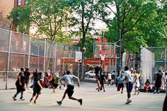 Retelly.com - A visual, poetic portrayal of the basketball court 'the Cage' at West 4Th street in NYC. Bystanders stop for a brief minute in their daily rushed life, enjoy a simple game of basketball and stop to smell the roses.