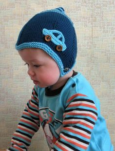 Baby hat by Tuttolv from Latvia