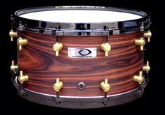 Beautiful snare from the brilliant KD Custom Drums!