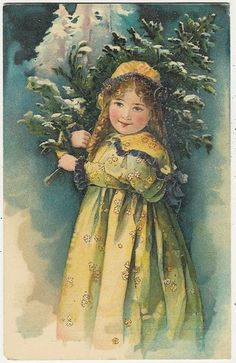 Beautiful Old Advertising Card