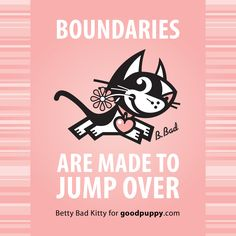 Betty Bad Kitty for goodpuppy.com