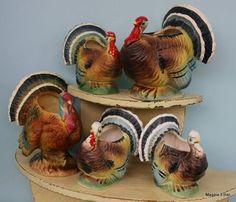Vintage Turkey Vases