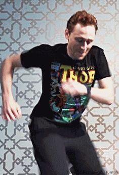 Tom hiddleston dancing.gif.