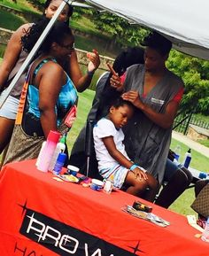 Proway Hair School provided free hair services and all students! Thanks guys!!! B2SF5!