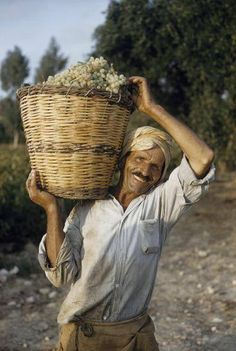 a good harvest in Crete...1958 (Photo by Gilbert M. Grosvenor/National Geographic/Getty Images)