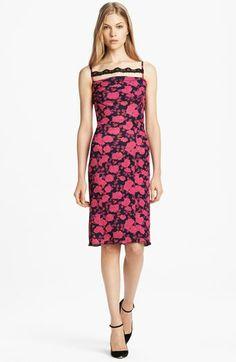 Nina Ricci Print Cocktail Dress available at #Nordstrom