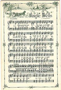 Christmas Songs Sheet Music
