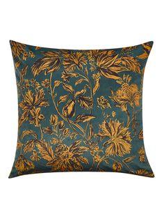 Buy Teal / Tiger's Eye John Lewis & Partners Florentina Cushion from our Cushions range at John Lewis & Partners.