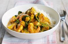 Prawn and squash curry recipe - goodtoknow