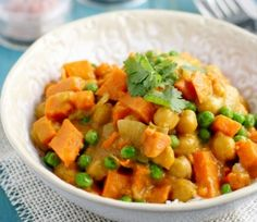 Sweet Potato Chickpea Curry | Finding Vegan