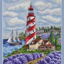 Gallery.ru / Все альбомы пользователя denise10 Cross Stitch Landscape, Cross Stitch Patterns, Painting, Asdf, Lighthouses, Gallery, Boats, Cross Stitch Pictures, Cushions